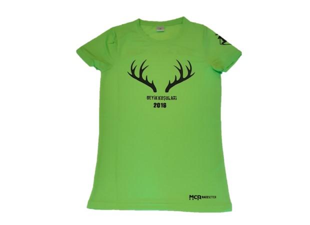 Geyik Koşuları 2016 Kadın Performans T-shirt