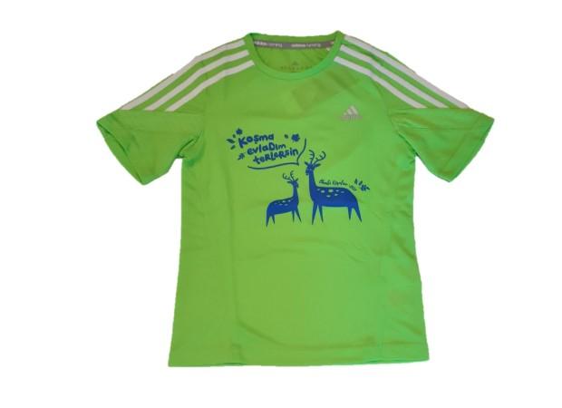 Geyik Koşuları 2017 Çocuk Performans T-shirt
