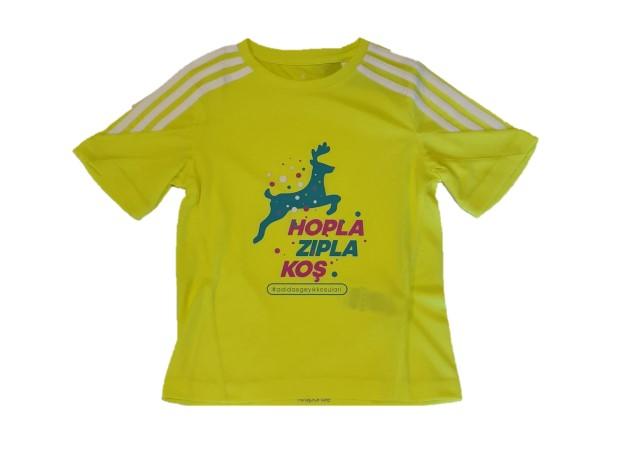 Geyik Koşuları 2018 Çocuk Performans T-shirt