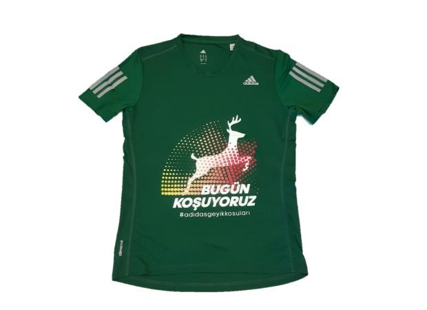 Geyik Koşuları 2018 Erkek Performans T-shirt