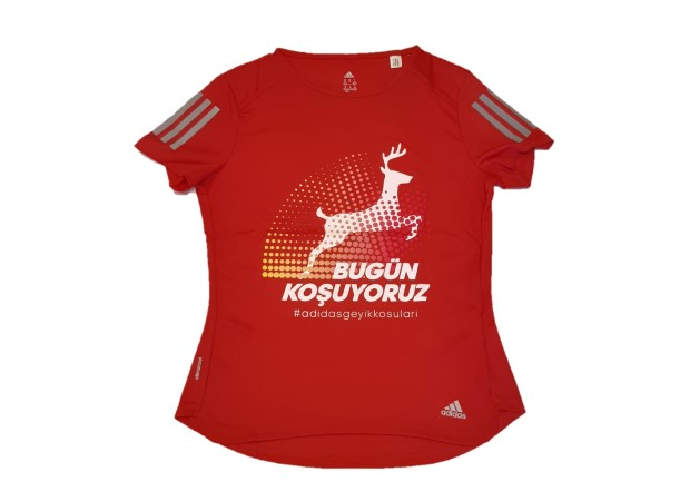 Geyik Koşuları 2018 Kadın Performans T-shirt