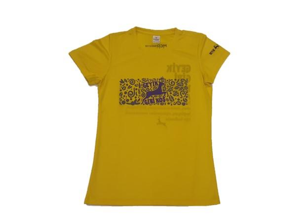 Geyik Koşuları 2019 Kadın Performans T-shirt