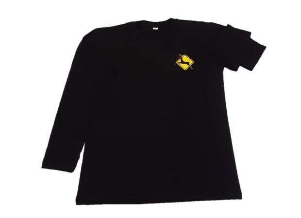 Geyik Koşuları Uzun Kollu Erkek Pamuklu T-shirt